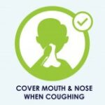 Infection Control Service - cover mouth icon